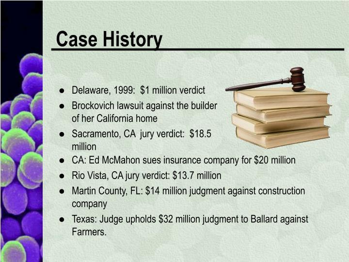 Delaware, 1999:  $1 million verdict