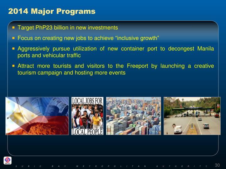 2014 Major Programs