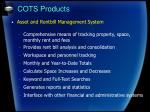 cots products