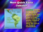 more quick facts jamaica
