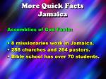 more quick facts jamaica2