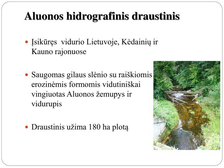 Aluonos hidrografinis draustinis