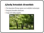 uol botaninis draustinis