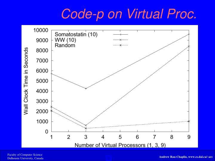 Code-p on Virtual Proc.