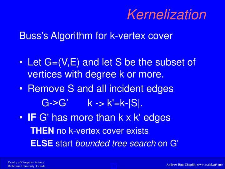 Kernelization