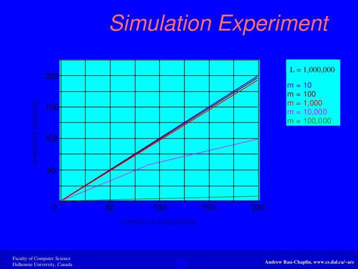 Simulation Experiment