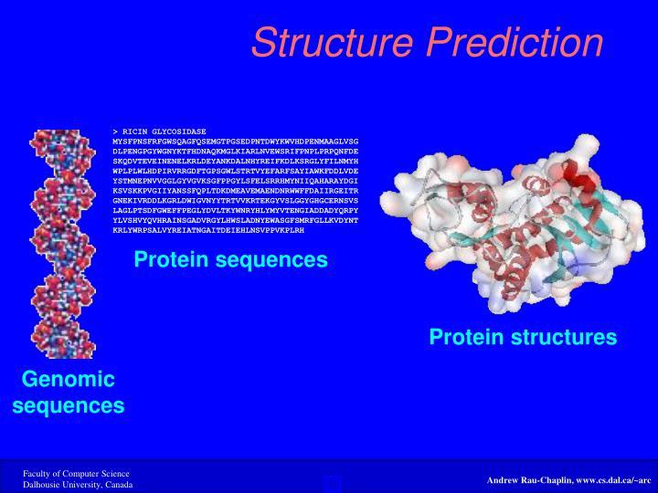 Structure Prediction