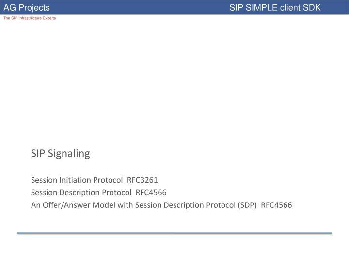 SIP Signaling