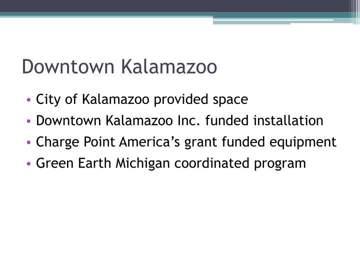 Downtown Kalamazoo