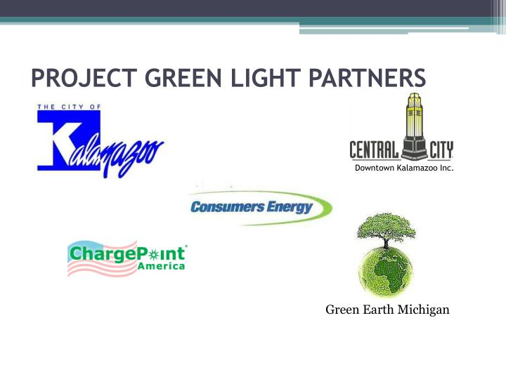 PROJECT GREEN LIGHT PARTNERS