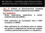 rn 396 2010 contabilidade regulat ria demonstra es cont beis regulat ria