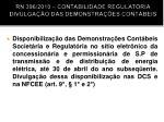 rn 396 2010 contabilidade regulat ria divulga o das demonstra es cont beis