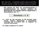rn 396 2010 contabilidade regulat ria reavalia o compuls ria regulat ria