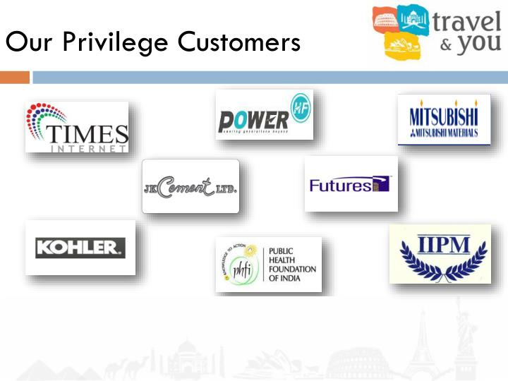 Our Privilege Customers