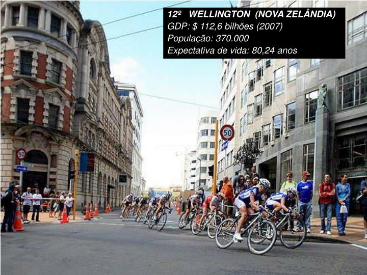 12º   WELLINGTON  (NOVA ZELÂNDIA)