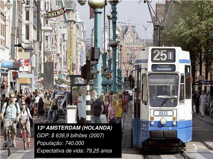13º AMSTERDAM (HOLANDA)