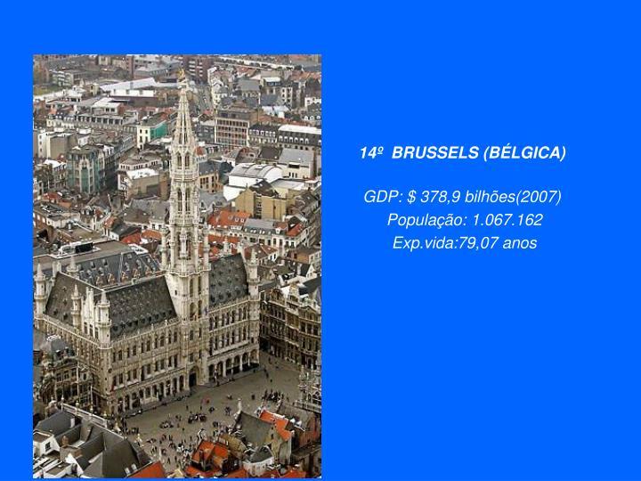 14º  BRUSSELS (BÉLGICA)