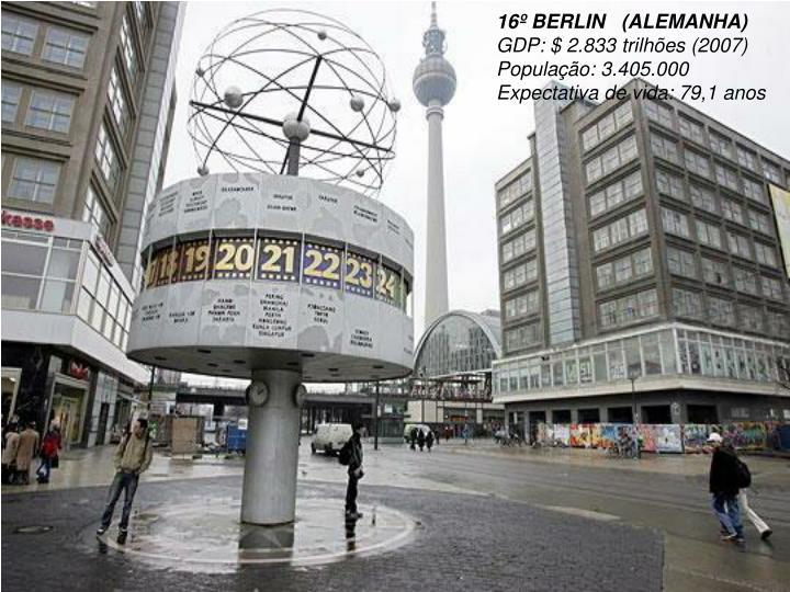 16º BERLIN   (ALEMANHA)