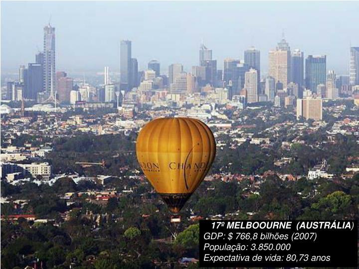 17º MELBOOURNE  (AUSTRÁLIA