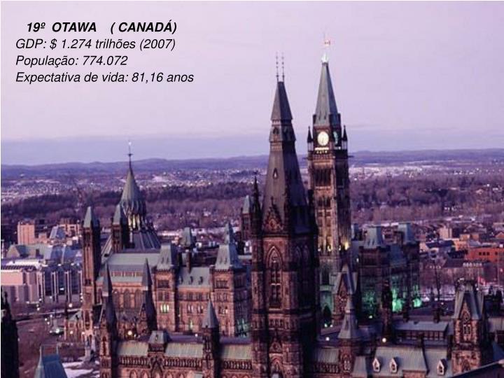 19º  OTAWA    ( CANADÁ)