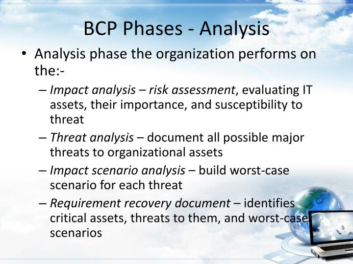 BCP Phases - Analysis