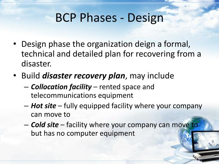 BCP Phases - Design