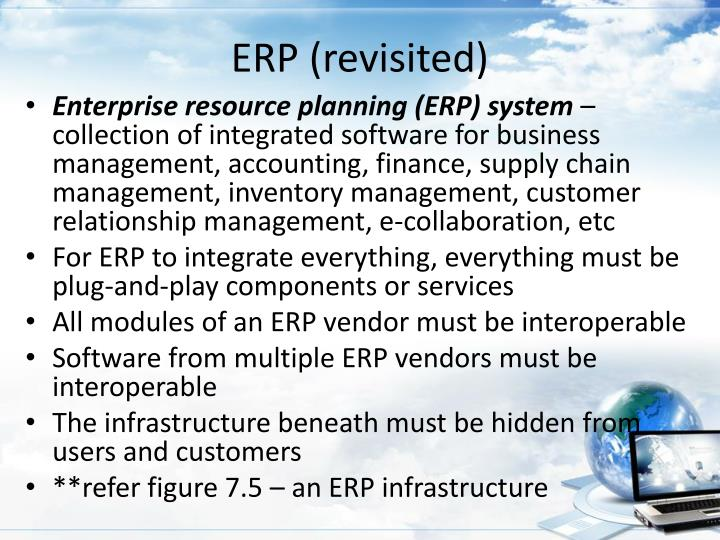 ERP (revisited)