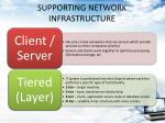 supporting network infrastructure2