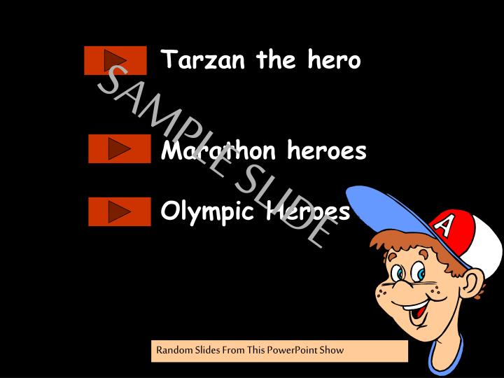 Tarzan the hero