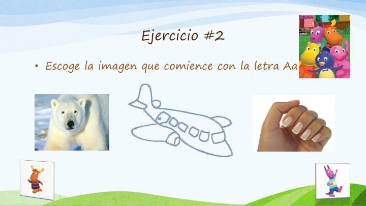 Ejercicio #2