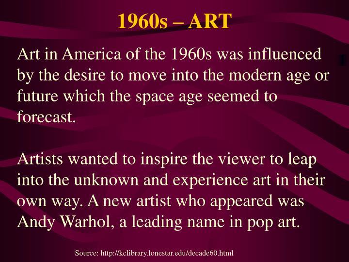 1960s – ART