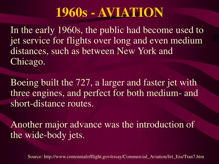 1960s - AVIATION