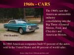 1960s cars