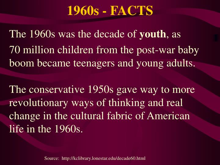 1960s - FACTS