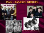 1960s famous groups