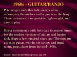 1960s guitar banjo