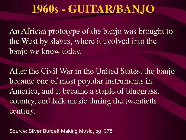 1960s - GUITAR/BANJO