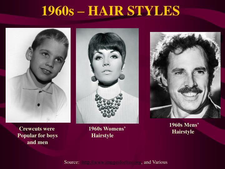 1960s – HAIR STYLES