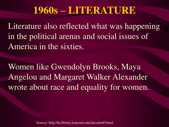 1960s – LITERATURE