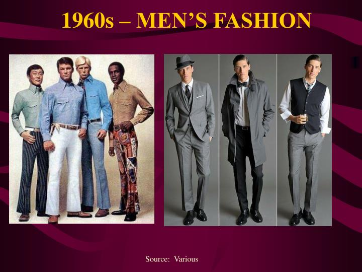 1960s – MEN'S FASHION