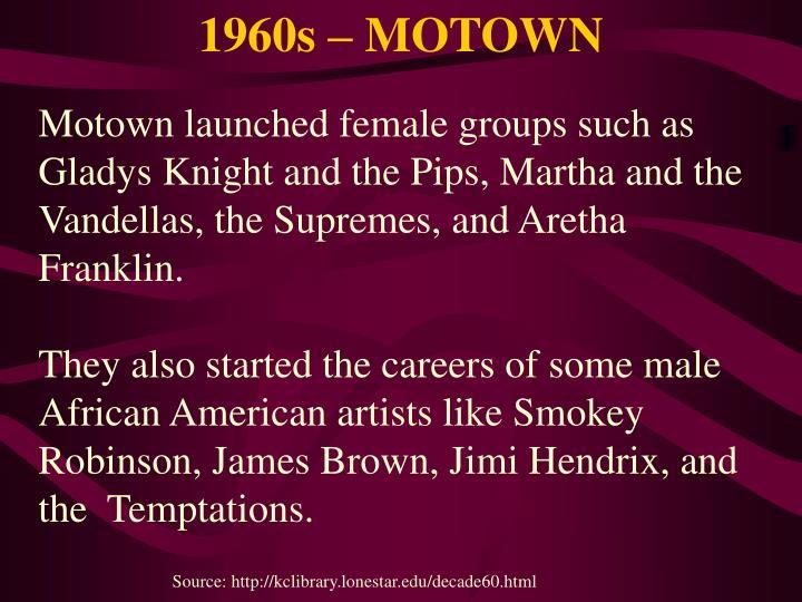 1960s – MOTOWN