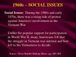 1960s social issues