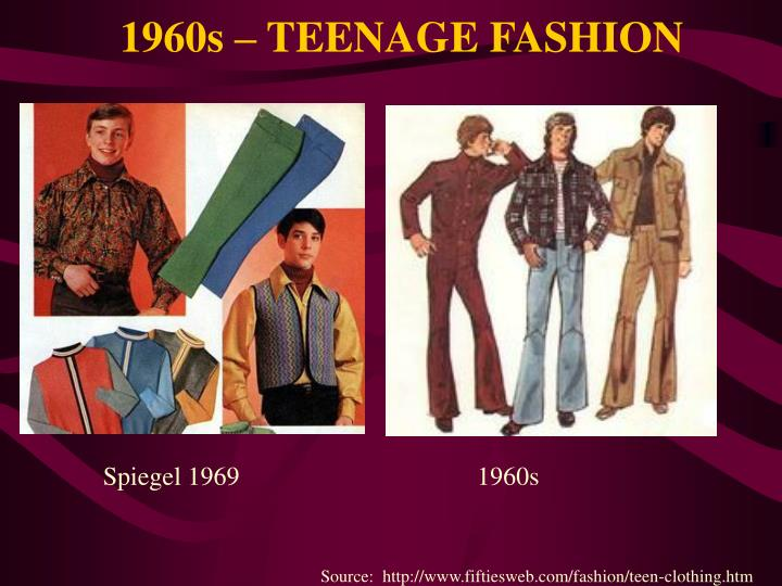 1960s – TEENAGE FASHION