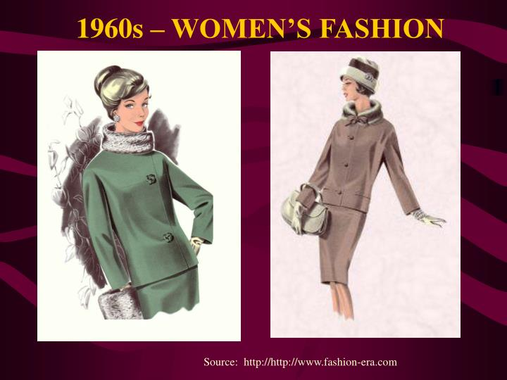1960s – WOMEN'S FASHION