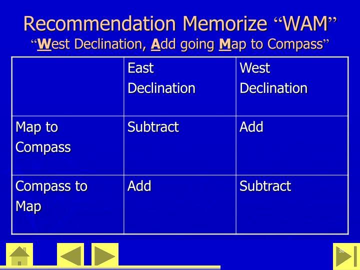 Recommendation Memorize