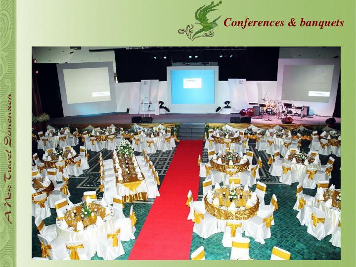 Conferences & banquets
