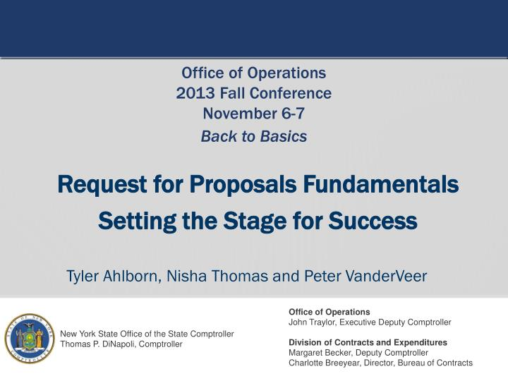Request for Proposals Fundamentals