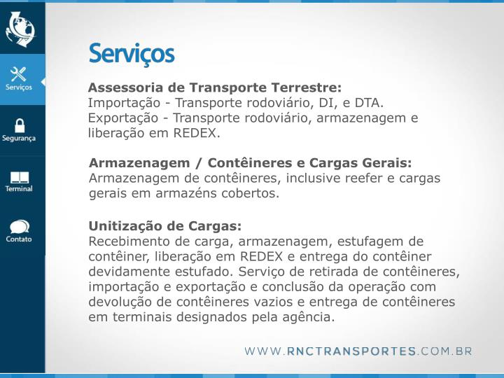 Assessoria de Transporte Terrestre: