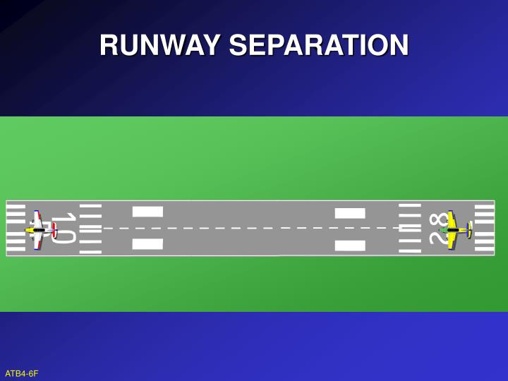 RUNWAY SEPARATION