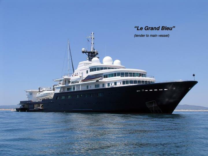 """""""Le Grand Bleu"""""""